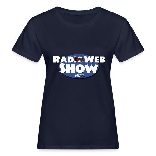 Logo RadioWebShow - T-shirt ecologica da donna