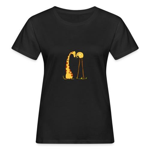 Maglietta San Valentino Tenera | con Animali - T-shirt ecologica da donna