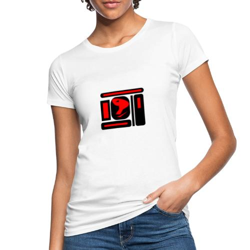 black and red hot P - Frauen Bio-T-Shirt