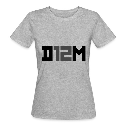 D12M: SHORT BLACK - Vrouwen Bio-T-shirt