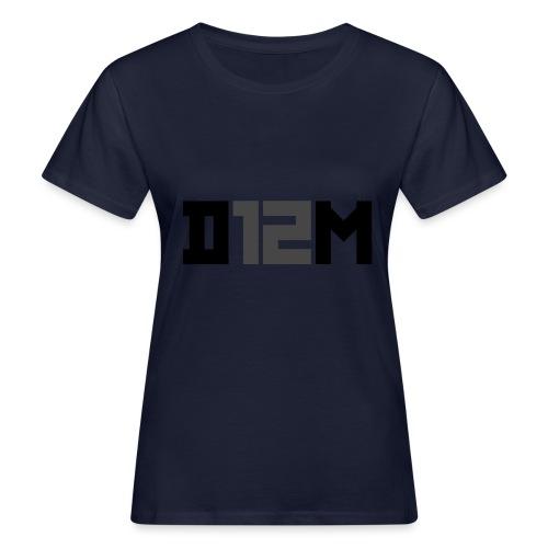 D12M: SHORT BLACK - Vrouwen Bio-T-shirt