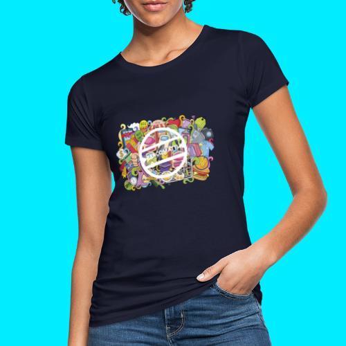 maglia logo doodle - T-shirt ecologica da donna