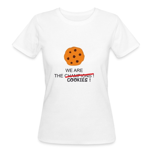 WE ARE THE COOKIES - T-shirt ecologica da donna