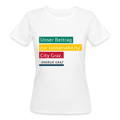 Energie Graz Vision - Frauen Bio-T-Shirt