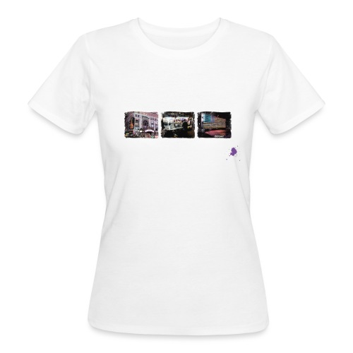 new york color ohne kontu - Frauen Bio-T-Shirt