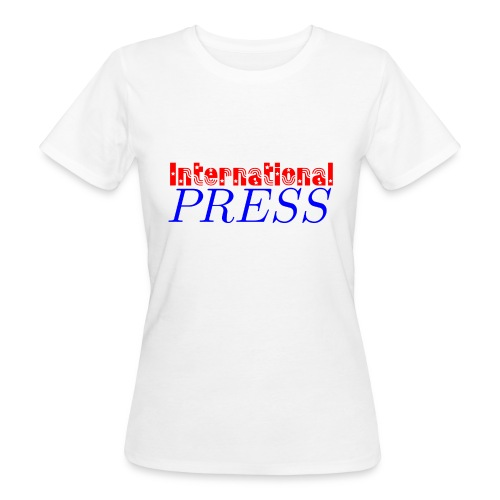 int_press-png - T-shirt ecologica da donna