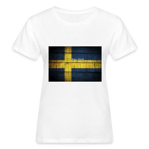 swedish-flag - Ekologisk T-shirt dam
