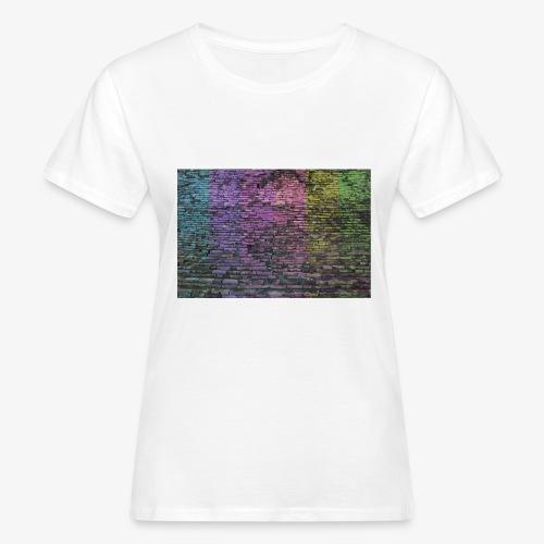 Regenbogenwand - Frauen Bio-T-Shirt