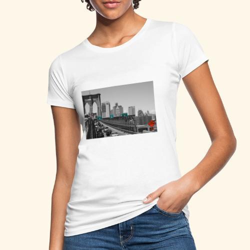 Brooklyn bridge - T-shirt ecologica da donna