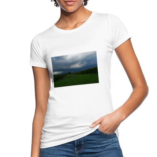 bedrohlicher Himmel bei GEWITTER - Frauen Bio-T-Shirt