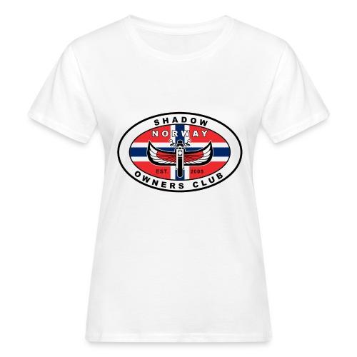 SHOC Norway Patch jpg - Økologisk T-skjorte for kvinner