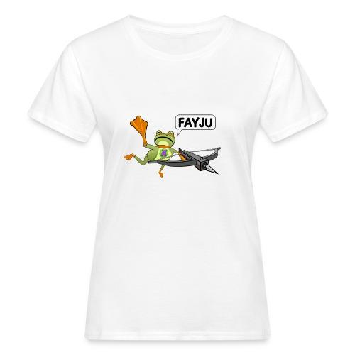 Amazing Frog Crossbow - Women's Organic T-Shirt