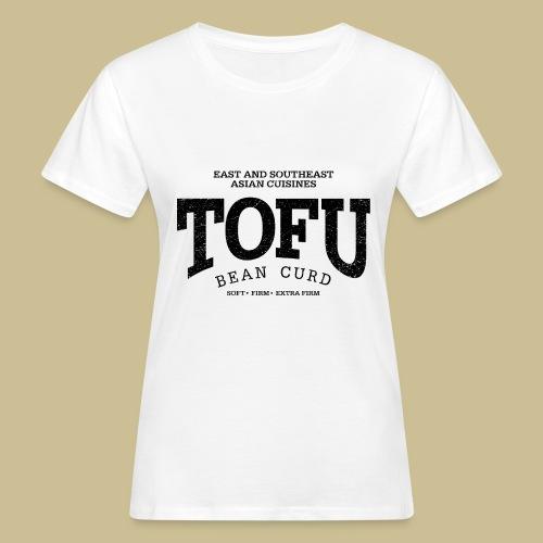 Tofu (black oldstyle) - Frauen Bio-T-Shirt