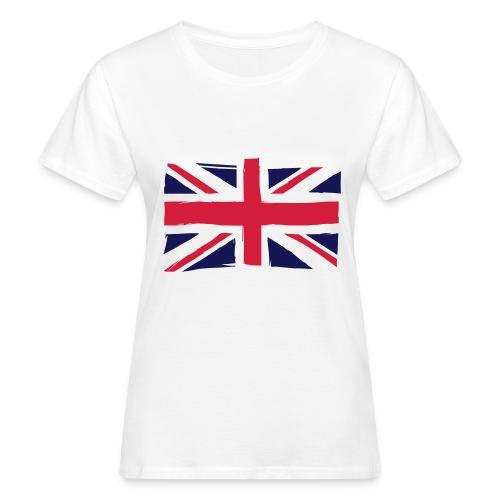vlag engeland - Vrouwen Bio-T-shirt