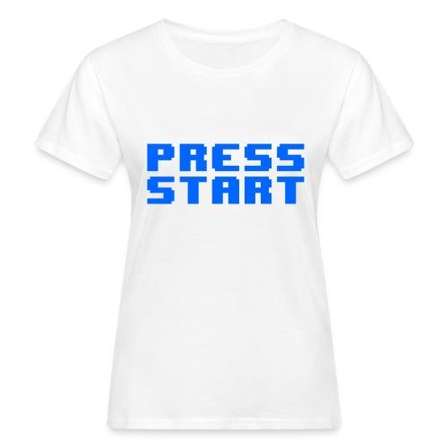 Press Start - T-shirt ecologica da donna