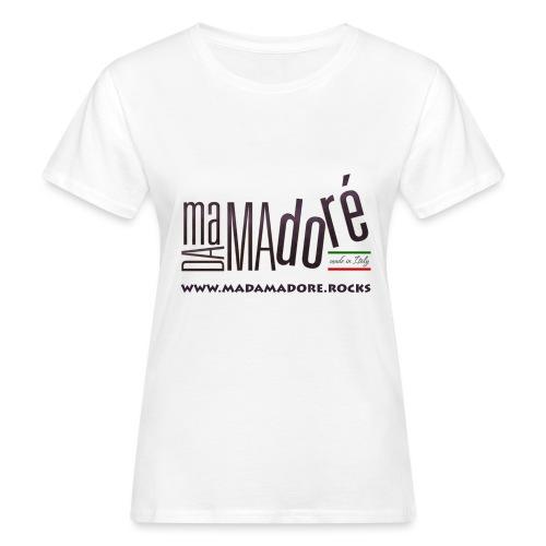 Sacca - Logo Standard + Sito - T-shirt ecologica da donna