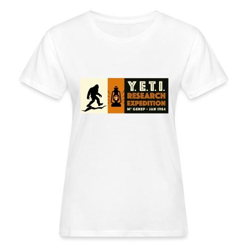 A la recherche du Yeti - T-shirt bio Femme