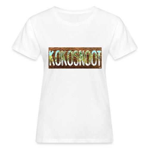 Kokosnoot - Vrouwen Bio-T-shirt