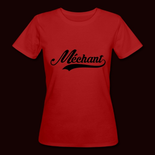 mechant_logo - T-shirt bio Femme