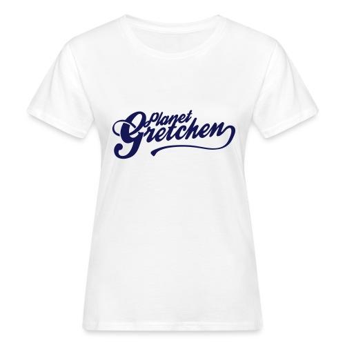 Planet Gretchen svart - Ekologisk T-shirt dam