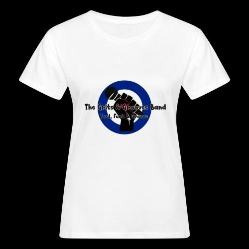 Grits & Grooves Band - Women's Organic T-Shirt