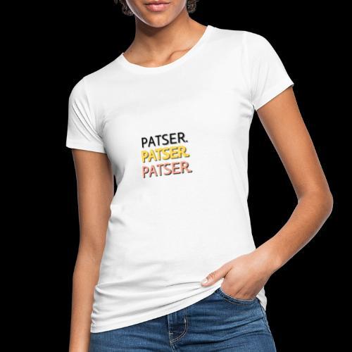 PATSER GOUD - Vrouwen Bio-T-shirt