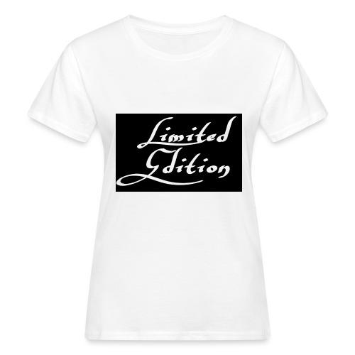 Limited edition - Naisten luonnonmukainen t-paita