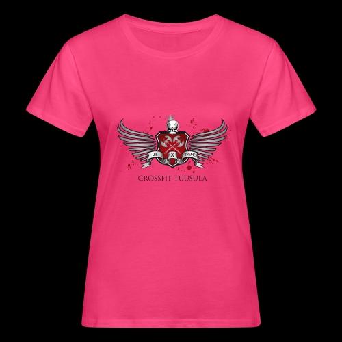 CrossFit Tuusula - Naisten luonnonmukainen t-paita