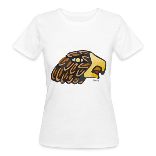 Aztec Icon Eagle - Women's Organic T-Shirt