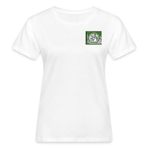 logo apram jpg - Frauen Bio-T-Shirt