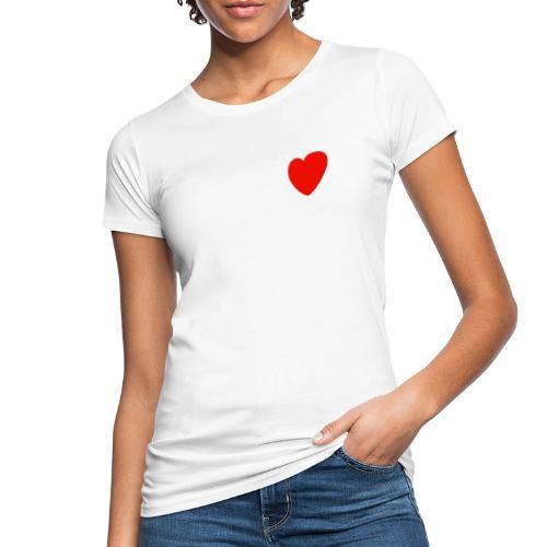 Herz - Frauen Bio-T-Shirt
