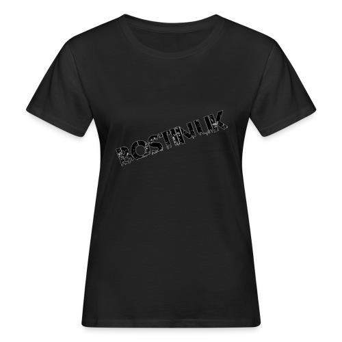 Bostin uk white - Women's Organic T-Shirt