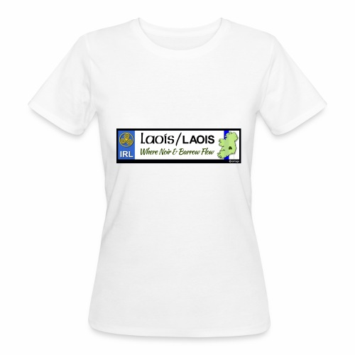 LAOIS, IRELAND: licence plate tag style decal eu - Women's Organic T-Shirt