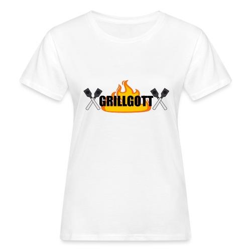 Grillgott Meister des Grillens - Frauen Bio-T-Shirt