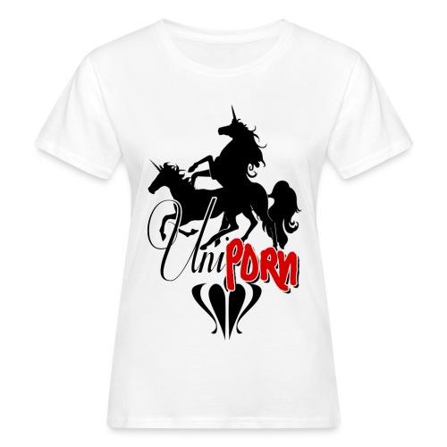 Uniporn - Frauen Bio-T-Shirt