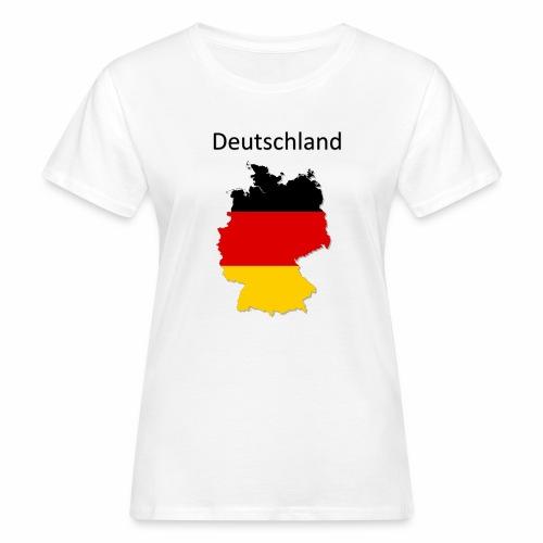 Deutschland Karte - Frauen Bio-T-Shirt