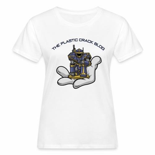 Plastic Crack Blog - Women's Organic T-Shirt