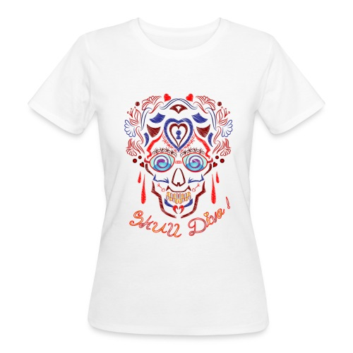 Skull Tattoo Art - Women's Organic T-Shirt