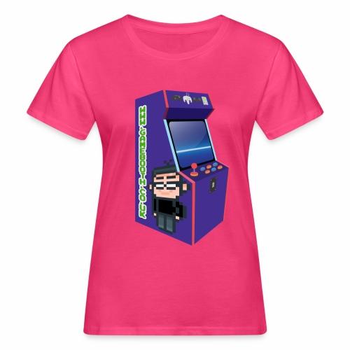 Game Booth Arcade Logo - Women's Organic T-Shirt