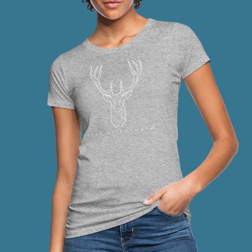 Hirsch. From Westerwald. - Frauen Bio-T-Shirt