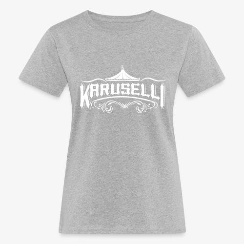Karuselli - Naisten luonnonmukainen t-paita