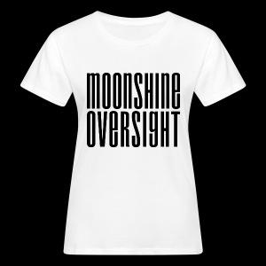 Moonshine Oversight noir - T-shirt bio Femme