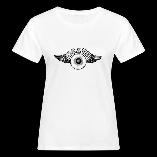 Skate wings - Vrouwen Bio-T-shirt