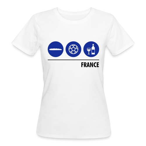 Circles - France - Women's Organic T-Shirt