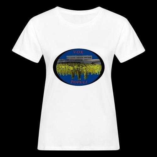 Vox Populi - T-shirt ecologica da donna