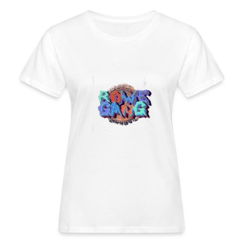 RoweGang Basic Logo - Naisten luonnonmukainen t-paita