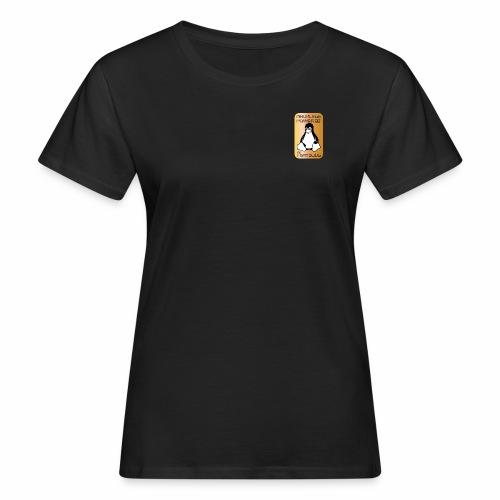 GNU/Linux Powered by FermoLUG - T-shirt ecologica da donna