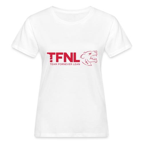 TFNL Red/Navy Logo Tee - Women's Organic T-Shirt
