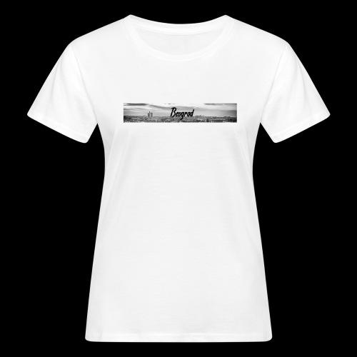Volimo Beograd - Frauen Bio-T-Shirt