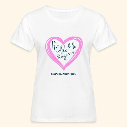 CLUB DELLE RAGAZZE - T-shirt ecologica da donna